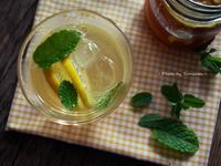 。夏日飲品。薑片檸檬漬蜂蜜