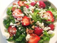 希臘草莓沙拉