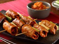 韓式泡菜豬肉串