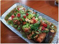 超簡易外酥內嫩泰式椒麻雞