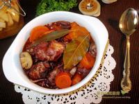 南法紅酒燉香雞