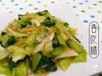 XO醬翠綠白菜  ◆華麗風高麗菜1