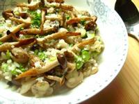 蒜香野菇燉飯