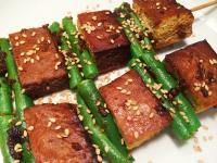 沙茶豆干串燒