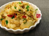 鹹蛋炒茭筍☆ 鹹蛋&蔬菜10