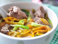金針排骨湯【我與大同的美味燉湯】