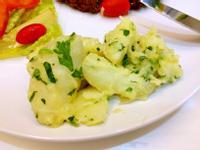 馬鈴薯佐菜製作 - 炸薯條-香菜馬鈴薯
