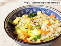 剩菜剩飯料理 - 麻油蛋炒飯