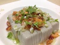 鮭魚鬆涼拌黑豆豆腐