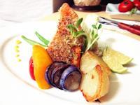 法式芥末鮭魚排
