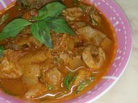 椰汁咖哩豬肉(南洋)