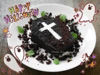 Olivia♥萬聖節棺材巧克力蛋糕
