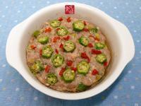 meat loaf 4☆鹹魚小星星蒸肉餅