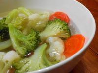 雙花椰菜胡蘿蔔湯【豆豆愛的料理】