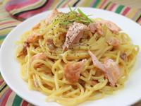 鮭魚蛋奶義大利麵『家樂福廚神大賽』