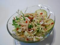 泰式涼拌雞絲高麗菜『家樂福廚神大賽』