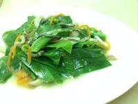 梅子豆腐乳炒山蘇
