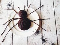 香蕉巧克力蜘蛛蛋糕