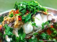 冬菜椒絲蒸鯇魚