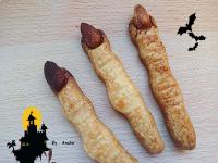 萬聖節★巫婆手指餅