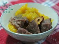 寵物鮮食食譜>南瓜薑汁燉牛肉,狗貓鮮食