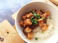 素食版麻婆豆腐 / 五辛素
