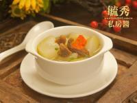 素食-巴西蘑菇瓠瓜湯【麻油薑泥】