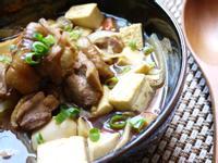 鮮菇雞球豆腐煲