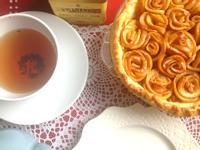 法式玫瑰花蘋果派