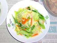 [ 5分鐘快炒] 蒜香高麗菜