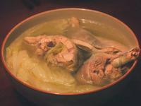 [電鍋]大白菜燉雞湯