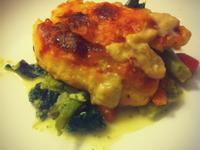 翡冷翠煎雞胸佐燉菜☼義式風味