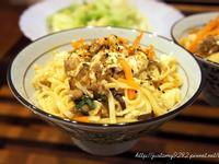 麻婆豆腐炒麵