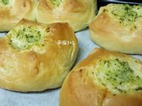 香蒜麵包(105T 麵包機)