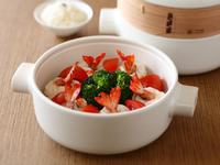 JIA Inc. 蒸鍋蒸籠 鹹瓜碧綠鮮蝦