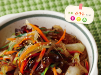 【愛瘦身食堂】韓式蔬菜拌冬粉