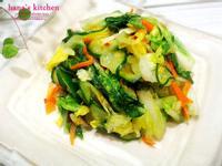 日式白菜淺漬