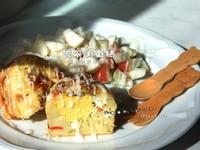 韓國雞蛋糕變體版:超好吃的《蔬菜鹹蛋糕》
