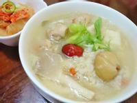山藥雞肉糙米粥