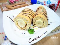 法式香蕉起司煎餅✿《鷹牌煉奶》