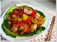 醬燒彩椒雞肉