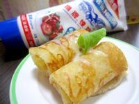煉乳玉米粉煎餅 * 鷹牌煉奶 *