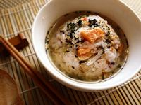 鮭魚茶蘿蔔絲泡飯[烹大師時食饗宴]