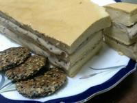 平底鍋健康版芋泥豆腐蛋糕