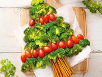 聖誕樹沙拉