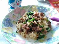 10分鐘炒飯-【菠菜牛肉炒飯】