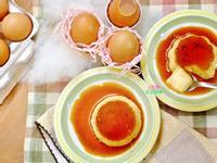香草籽雞蛋烤布丁