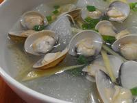 薑絲冬瓜蛤蜊湯【豆豆愛的料理】