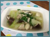 鮮菇菜心湯