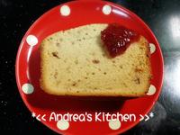 草莓奶香磅蛋糕(麵包機)